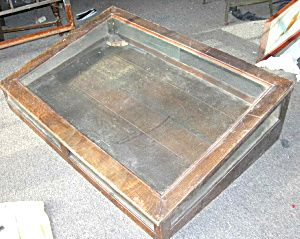 Antique jewelry display case                                                                                                                                                                                 More