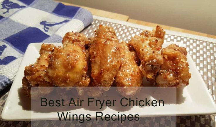 Check our free 6 Delicious Air Fryer Chicken Wings Recipes. Hope you like this list. Chicken wings are one of my favorite meals to make...
