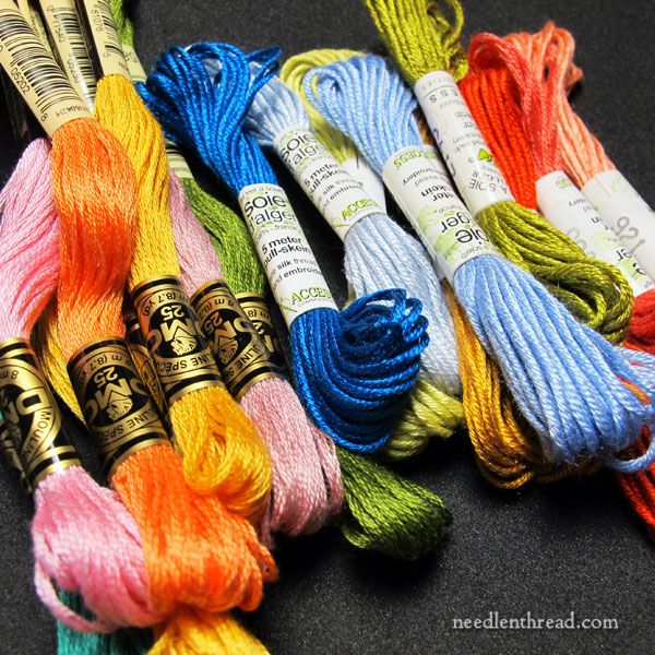 Best embroidery threads materials tools images on