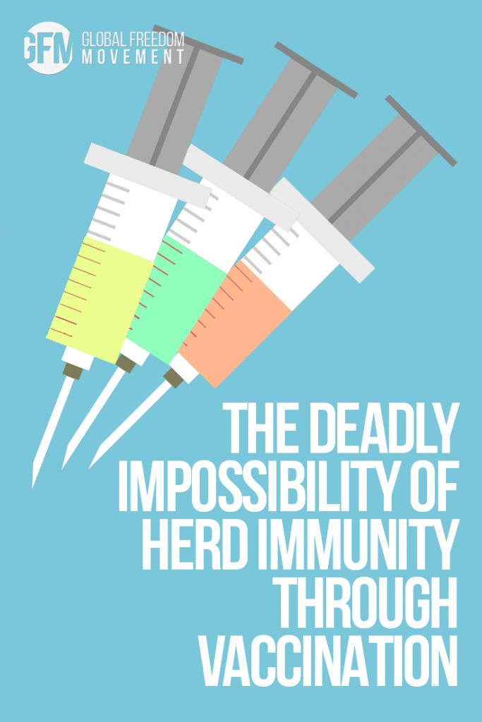 In the original description of herd immunity, the protection to the population at large occurred only if people contracted the infections naturally. Naturally-acquired immunity lasts for a lifetime. The vaccine proponents quickly latched onto this concept and applied it to vaccine-induced immunity. But, there was one major problem – vaccine-induced immunity lasted for only a relatively short period. | The Deadly Impossibility Of Herd Immunity Through Vaccination