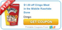 See where you can get the best deal on Dingo Dog treats with an amazing #coupon!