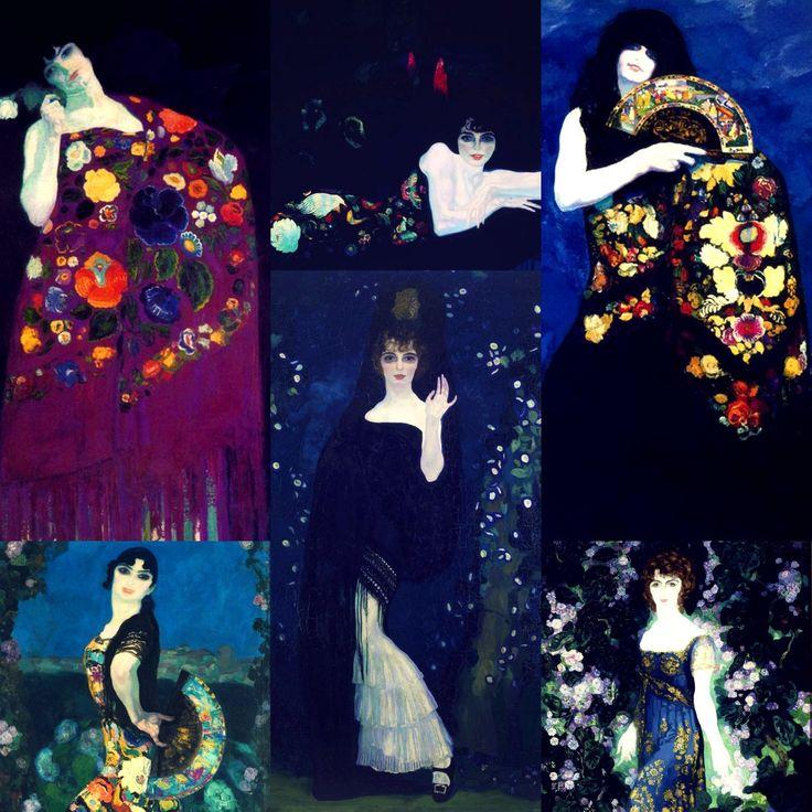 Obras del pintor Anglada Camasa
