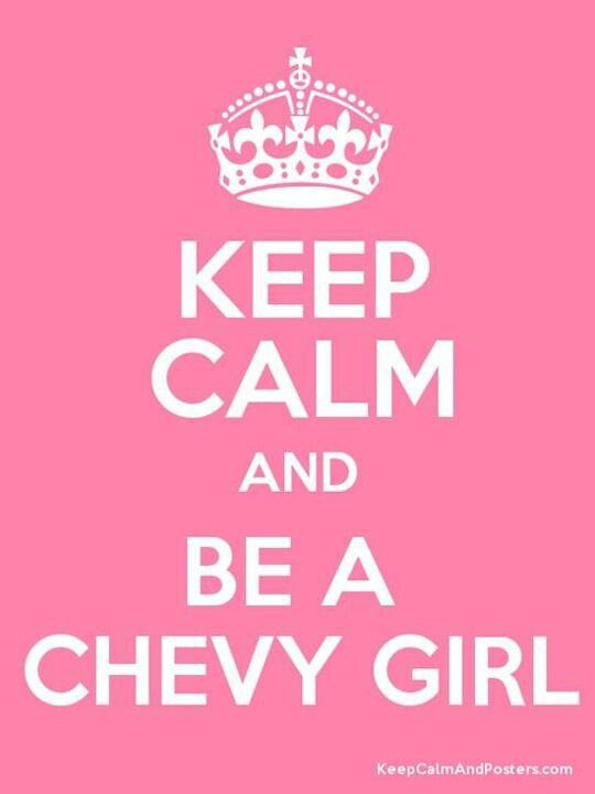 Chevy Girls are awesome!