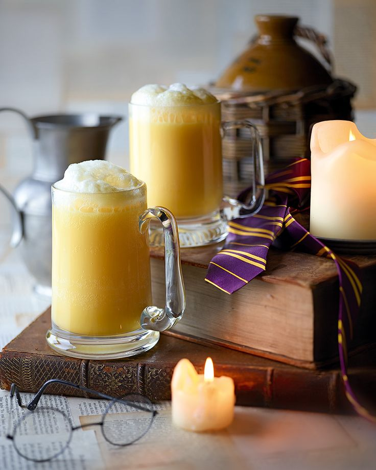 Our butterbeer recipe is inspired by JK Rowling's <i>Harry Potter</i> books – a wizard drink often imbibed at The Three Broomsticks Inn. We've made ours not so child-friendly with a good glug of toffee vodka.
