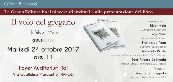 Il volo del gregario: ecco il libro 📚 che sarà presentato a Roma