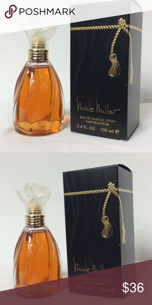 NIcole Miller Parfum Spray 3.4 Fl oz NIcole Miller Parfum Spray 3.4 Fl oz Nicole by Nicole Miller Other