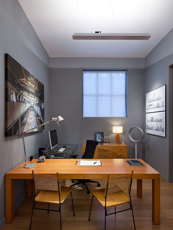 5 stunning garage conversions optometry office for Small office in garage