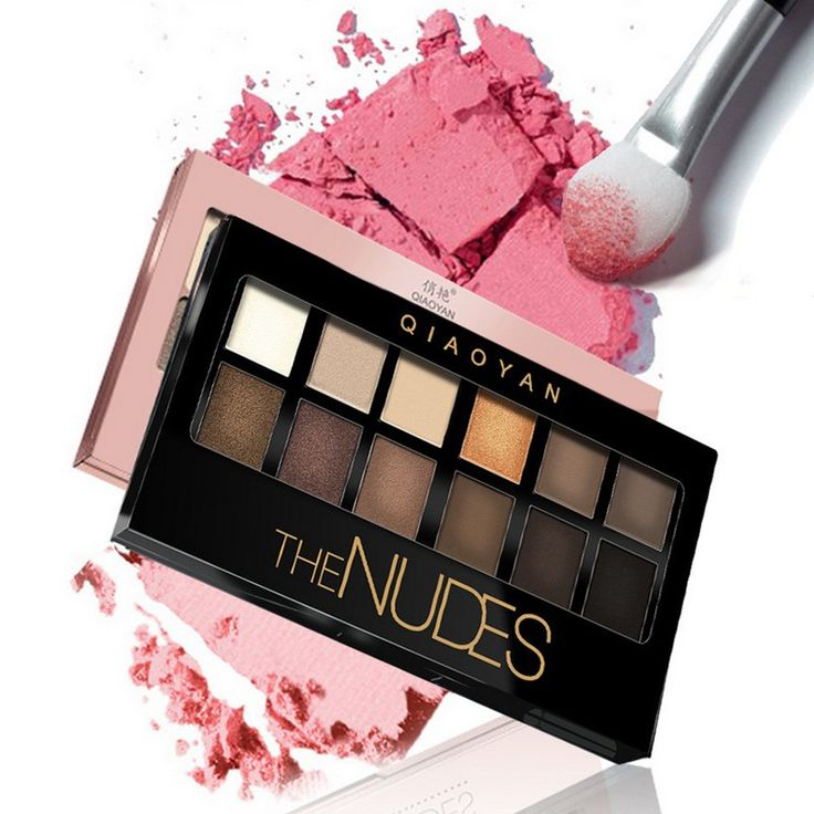 Arrival 12 Colors Shimmer Earth Color Makeup Exquisite Eye Shadow Palette Cosmetic Makeup Set Nude Eye Shadow  #AP5 #Affiliate