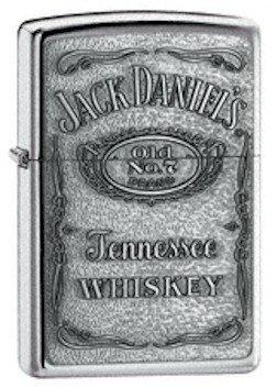 Zippo Jack Daniels Pewter Emblem Lighter 254BJD.428    ZippoCollectibles.com