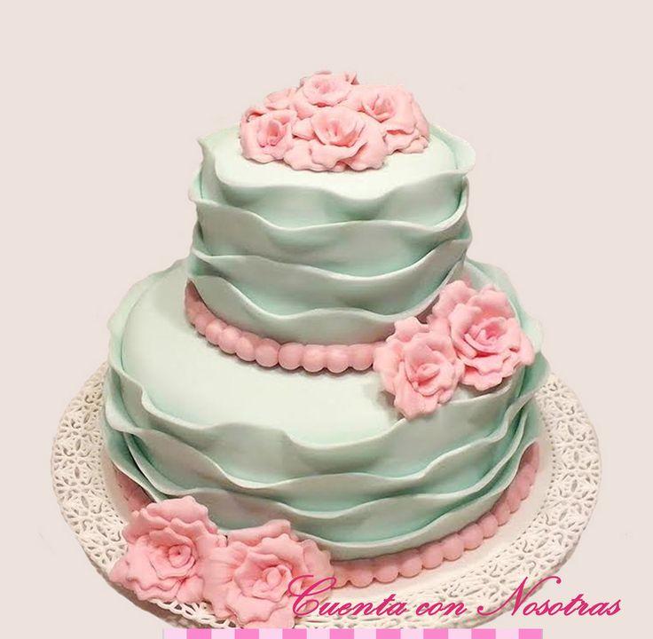 Torta Novios Torta Boda Torta Ruffle Ruffle Cake Wedding Cake