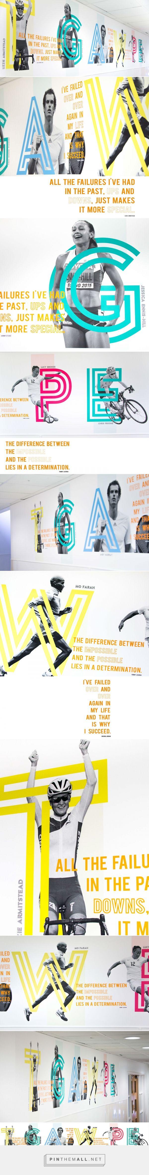 Wall of champions on Behance by Andrew Heffernan