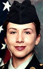 Army SGT Shawna M. Morrison, 26, of Champaign, Illinois. Died September 5, 2004, serving during Operation Iraqi Freedom. Assigned to 1544th Transportation Company, Illinois Army National Guard, Paris, Illinois. Died of injuries sustained from indirect fire when enemy mortar shells landed near her position during an attack on Log. Camp Seitz, Baghdad, Iraq.