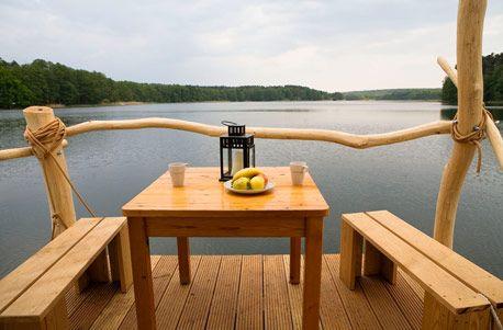 Floßabenteuer für 4 Personen in Brandenburg: 3 Starthäfen zur Auswahl + 4 Tage auf dem Wasser ab 82 € pro Person - Urlaubsheld | Dein Urlaubsportal