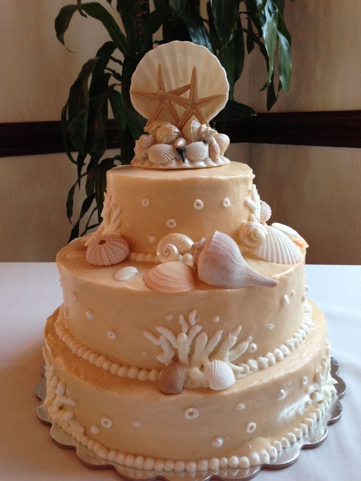 beach wedding cake flavors beautiful themed wedding cake flavor is chocolate 11175