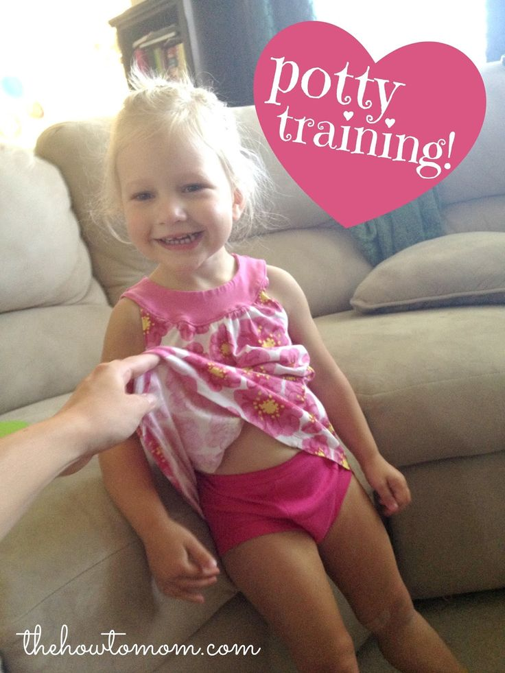 One of the best potty training blogs I've ever read. I'm going to try her method!