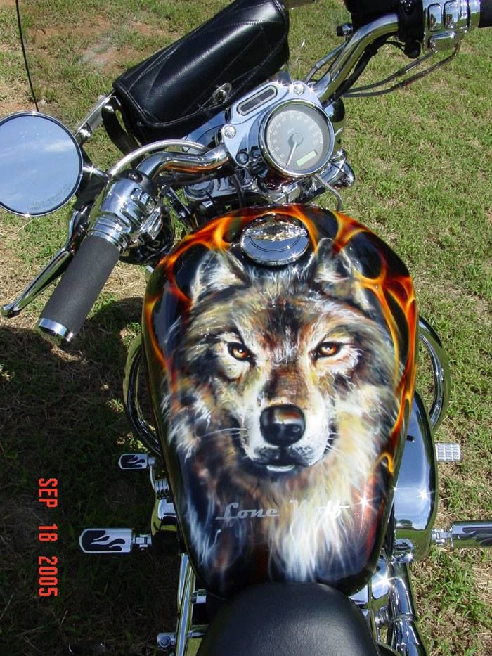 Custom Paint Job Harley Davidson LOVE IT!!!!! ❤️❤️