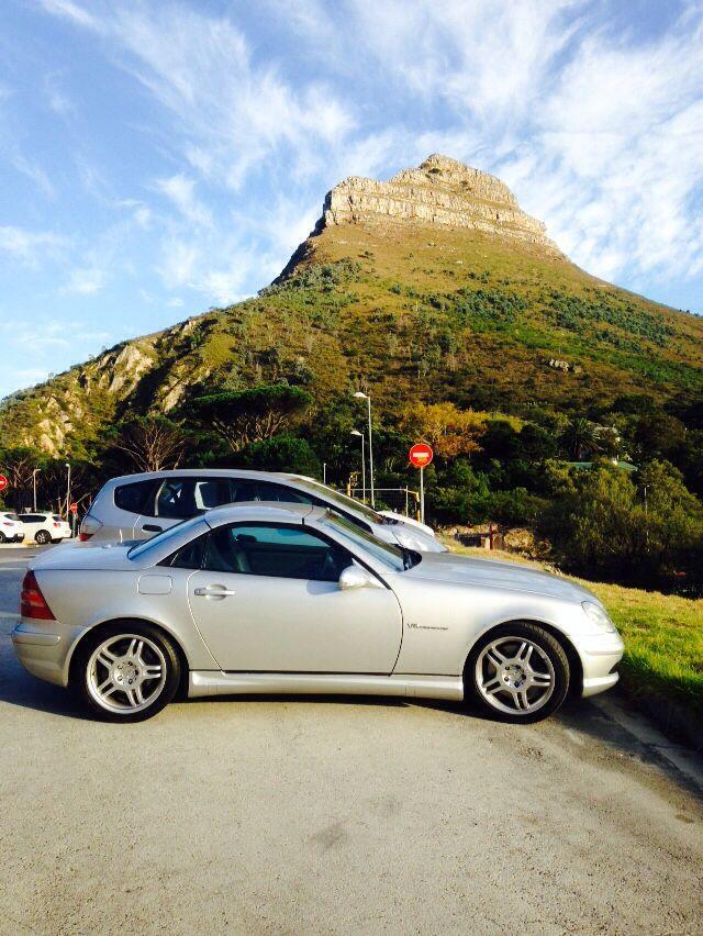 Beneath Lion's Head, Cape Town.... My SLK32 AMG