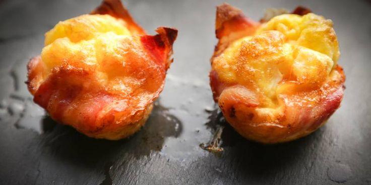 Bacon-and-egg basket!