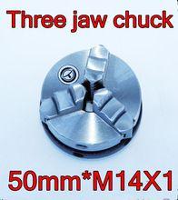 50mm * M14X1 Interne draad drie klauwplaat Hout draaibank chuck micro draaibank gereedschap De draaibank gereedschap Gratis verzending(China (Mainland))