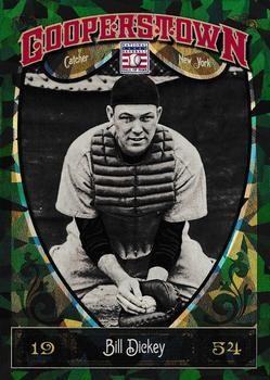 2013 Panini Cooperstown - Green Crystal 36 Bill Dickey New York Yankees Baseball Card