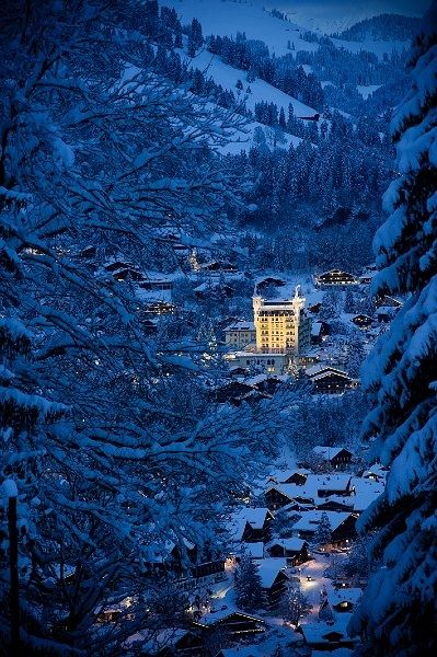 Gstaad in Zwitserland