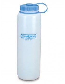 Nalgene 1.5 Litre HDPE Bottle : Wide Mouth (BLUE LID)