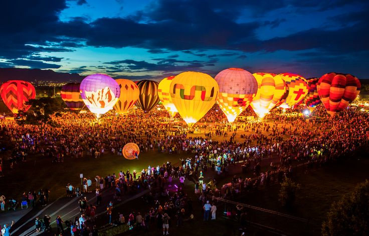 The #Colorado Balloon Classic in Colorado Springs has been held each Labor Day Weekend since 1977.
