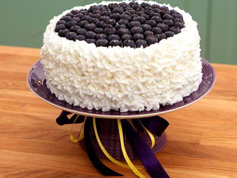 Blueberry lemon meringue cake | Recept.nu
