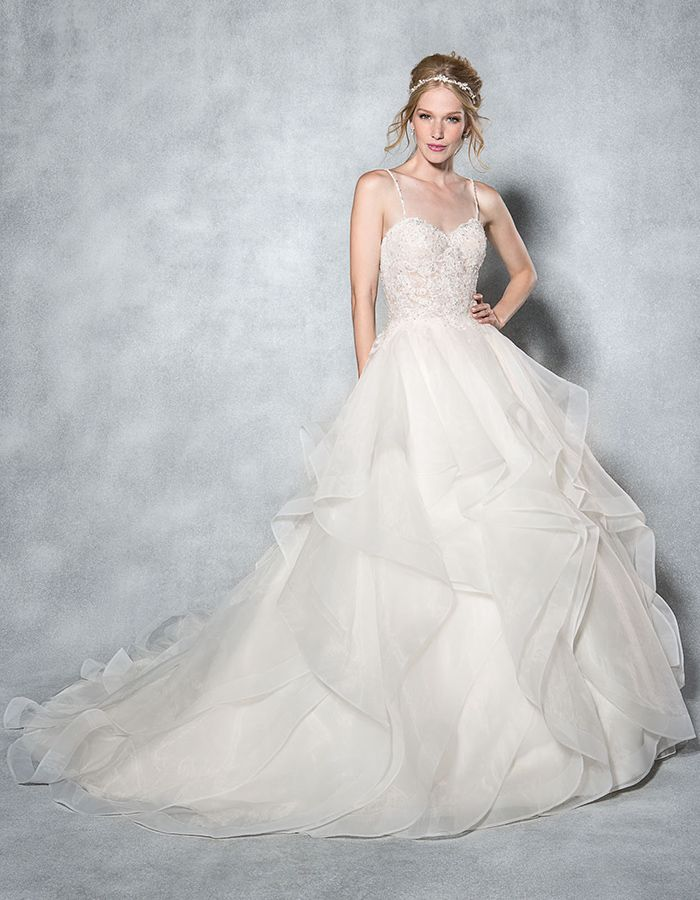 The 41 best Wedding Dresses ft Mori Lee WED2B images on Pinterest