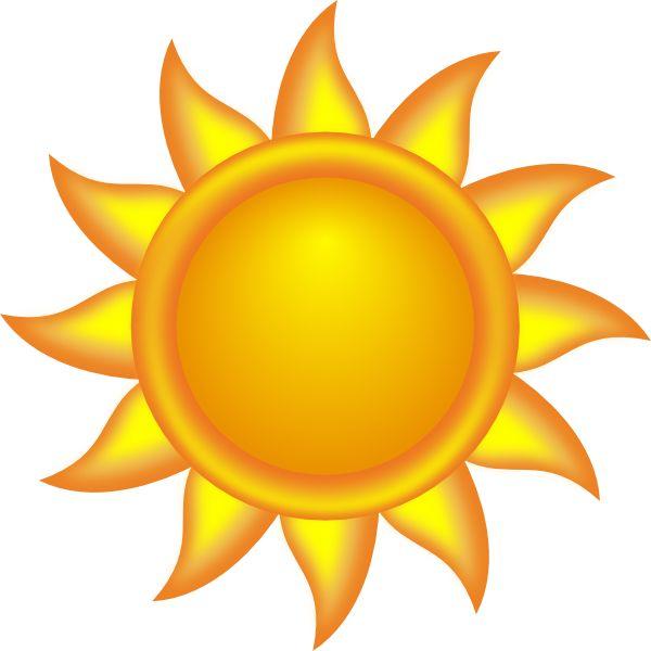 sun clipart decorative clip