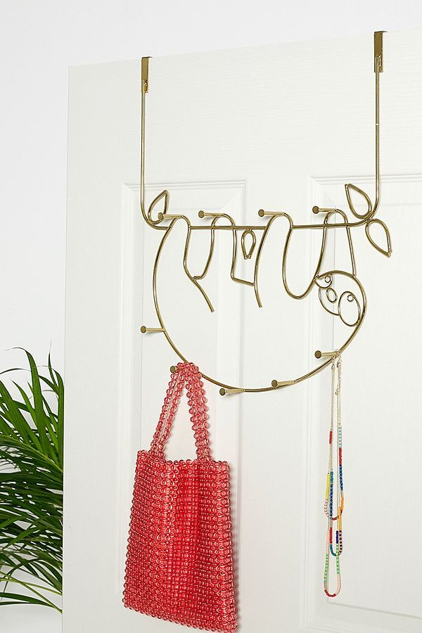 Sloth Over The Door Hook Urban Outfitters Uk Door Hooks Over The Door Hooks Sloth