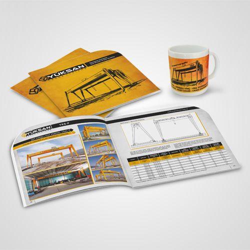 Yüksan Vinç - Katalog Tasarım - Catalog Tasarım