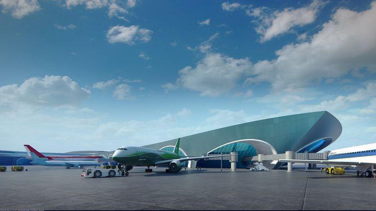 Международный аэропорт г. Ашхабад