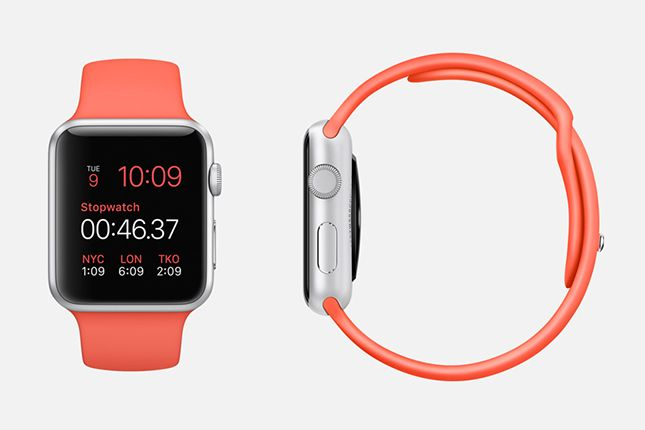 Say hello to the Apple Watch.