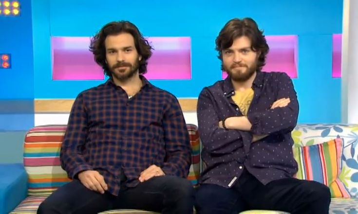 I love a good beard and i love The Musketeers! Santiago Cabrera & Tom Burke