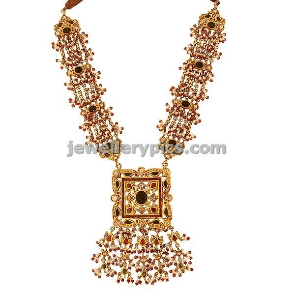 Fabulous Prince jewellers Antique necklace Design - Latest Jewellery Designs