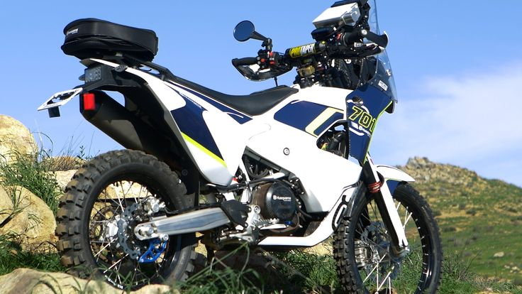 Extremely Rare Husqvarna 701 Project Rally Bike - Dirt Bike Magazine