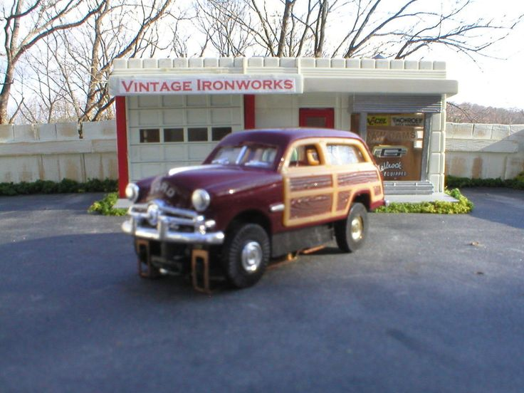 1949 Ford Woody T-Jet HO Scale Slot car