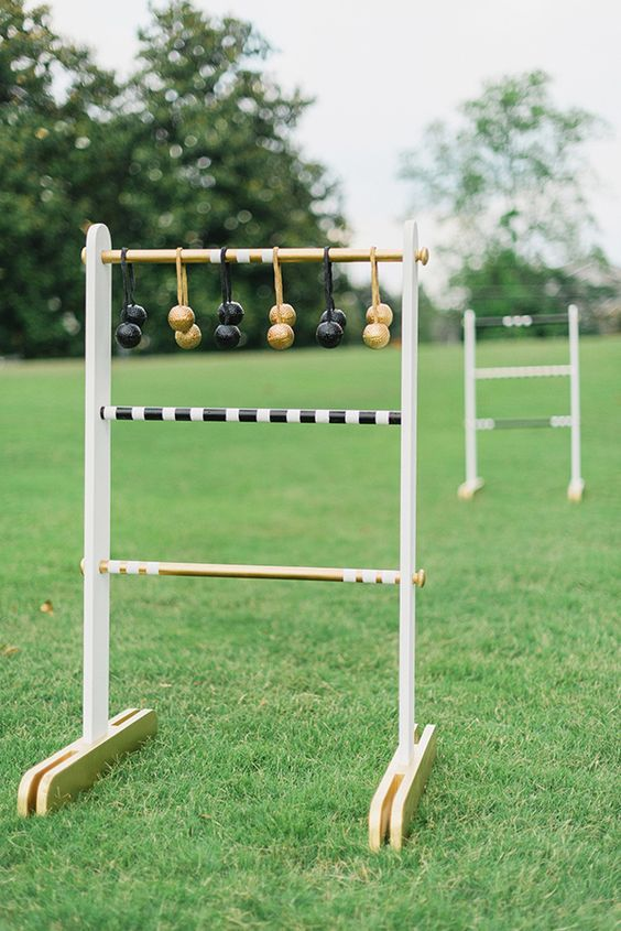 Outdoor Games: DIY Ladder Toss You Can Take to the Park