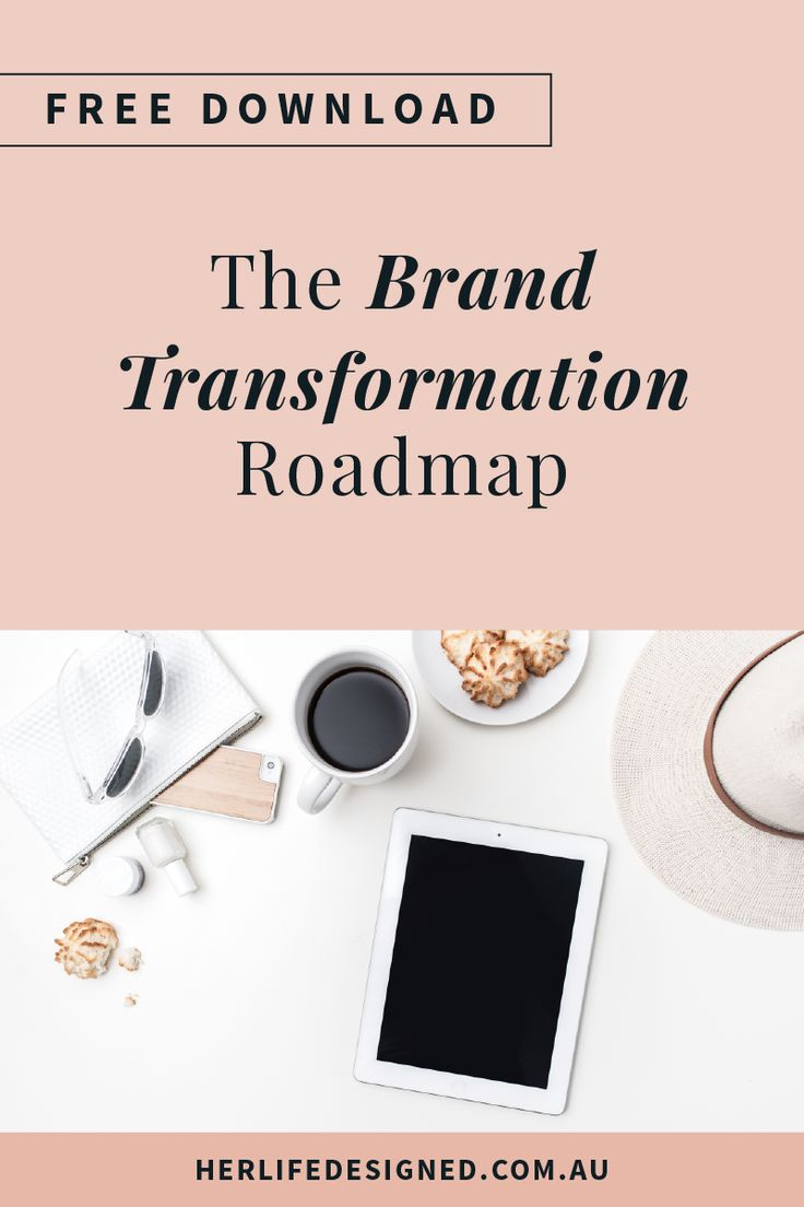 Stop the brand shame! Take your business from amateur to professional with this quick and easy to implement Brand Transformation Roadmap.