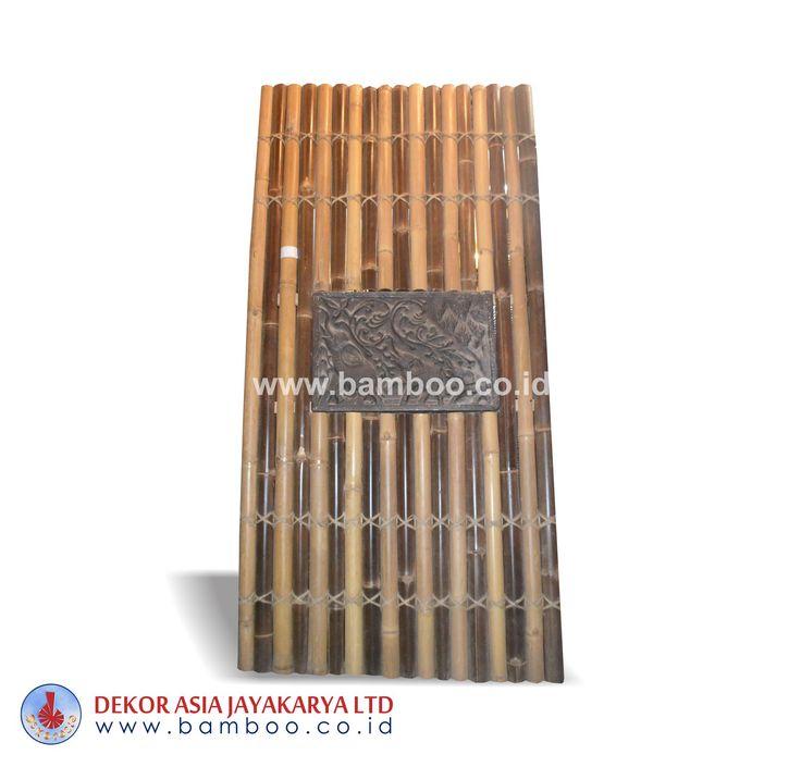 Half Cut Bamboo Fence