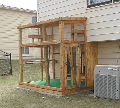 die besten 25 outdoor katzen lebensraum ideen auf pinterest katzen lebensraum katzenk fig. Black Bedroom Furniture Sets. Home Design Ideas