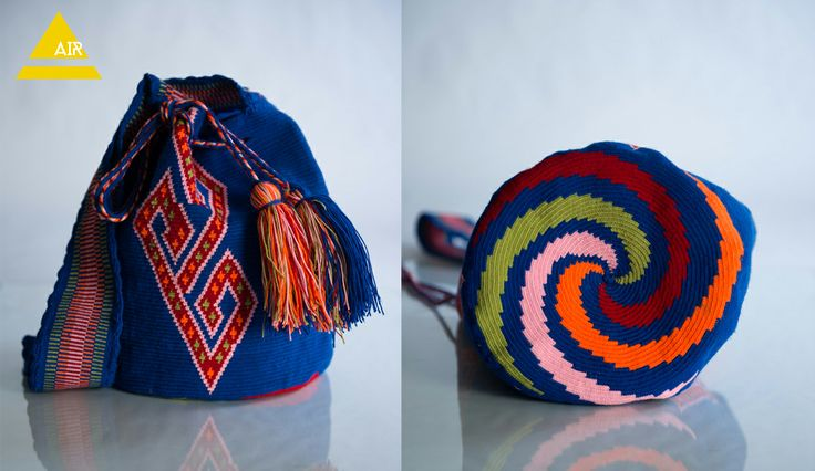COMOCHI Bags   Handmade Bohemian Bags, $180.00 Siruma(Air) Boho Bags are woven by one strand of thread taking 25-30 days to weave. Fine Details throughout the strap and bag. Perfect for the day or night, this bag is a great poolside and beach accessory. Handmade in Colombia by the indigenous Wayuu people. www.comochibags.com