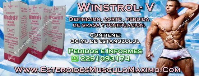 Winstrol-V 30 ml x 50 mg - Precio ( $800 Pesos ) estanozolol