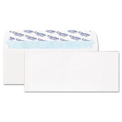 Grip-Seal Business Envelope, 4 1/8 X 9 1/2, 24 Lb, White, 250/Box   2 Pack
