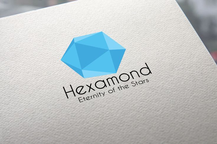 Hexamond is again a new creation for signifying purity and clarity. This time we have created a logo out of the purity and the dimensions of a Blue Diamond. Well the Orange and Green Logos are also included as bonus.