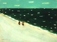 Milton Avery has spoken to me since the first time I laid eyes on his work and I have no idea why.  But I could eat his paintings.