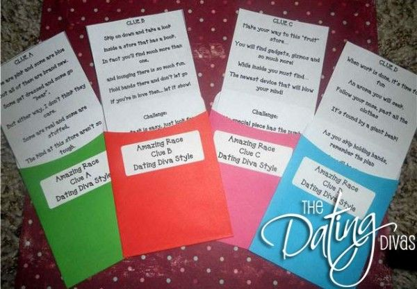 Amazing Race inspired group date idea!!! Might get something like this organized for church.... would be fun!