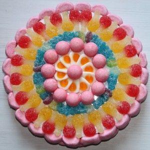 Gâteau de bonbons HARIBO PINK