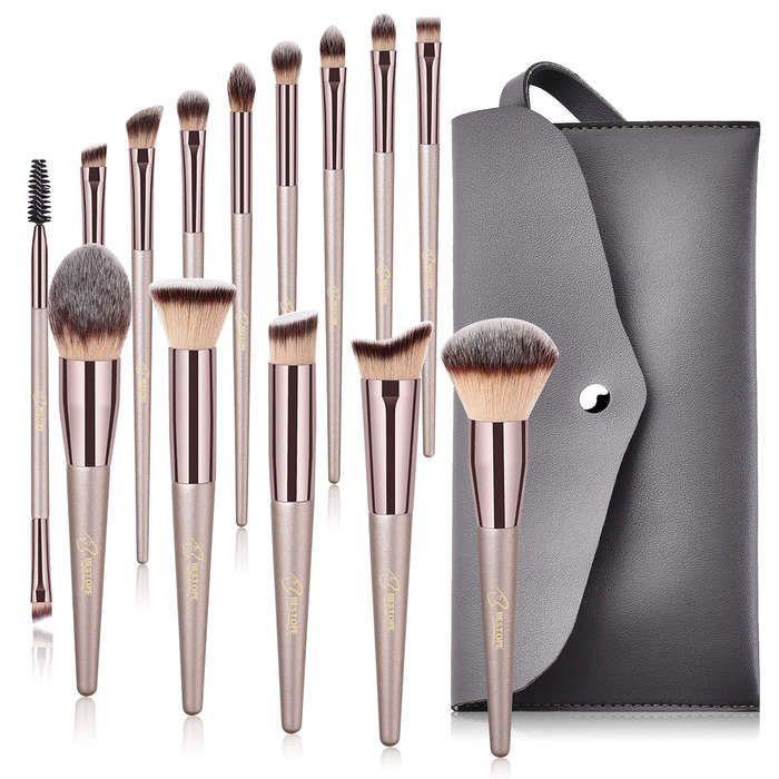10 Best Travel Makeup Brush Sets In 2020 Bestope Makeup Brushes Makeup Brush Set It Cosmetics Brushes
